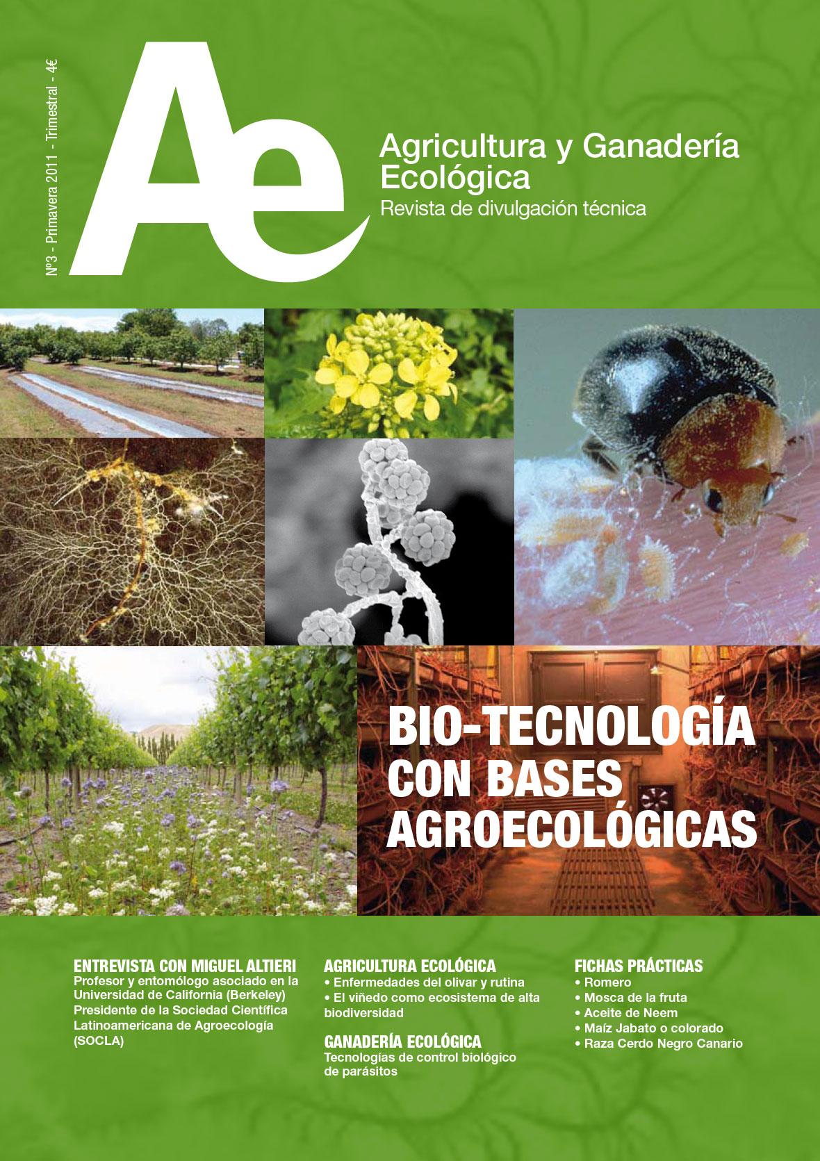 Cover of Tecnologías de control biológico de parásitos en ganadería ecológica