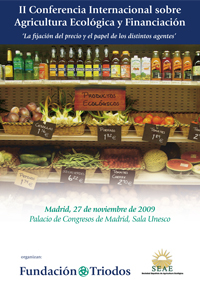 Cover of Conferencia Internacional sobre Agricultura Ecológica i Financiación (II)
