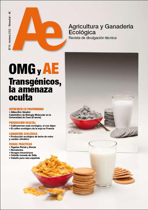 Cover of OMG y AE Transgénicos, la amenaza oculta