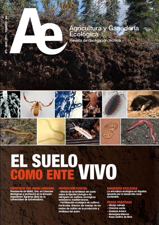 Cover of El suelo como ente vivo