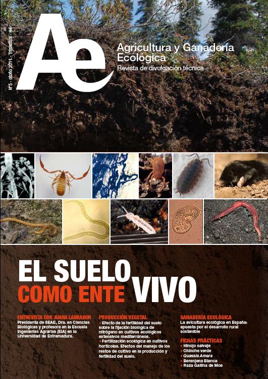 Cover of El suelo como ente vivo