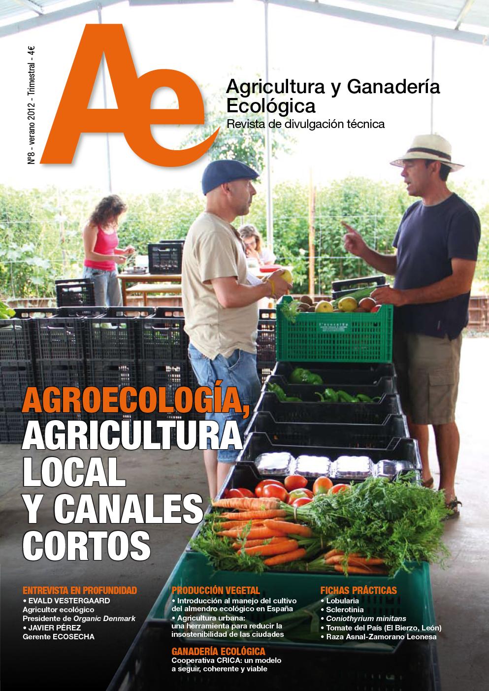 Cover of Uso de fertilizantes y acondicionadores de suelo en agricultura ecológica