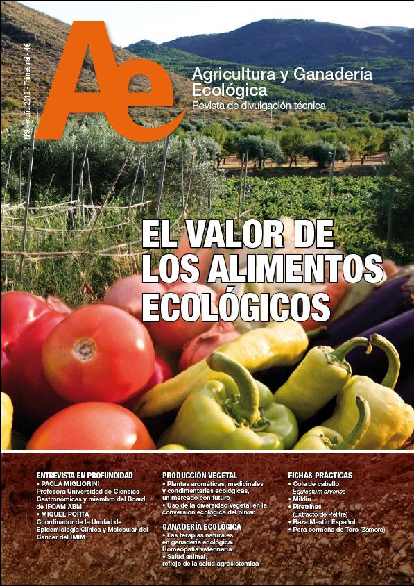Cover of Uso de la diversidad vegetal en la conversión ecológica del olivar
