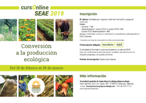 Curso online: Conversión a la producción ecológica