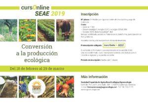 Curso online: Conversión a la producción ecológica @ Plataforma de Formación SEAE