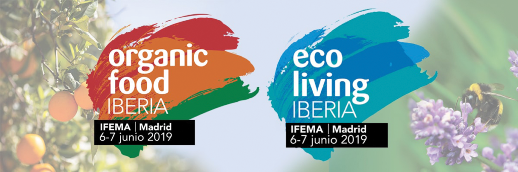 Feria Organic Food Iberia @ IFEMA - Feria de Madrid. Pabellón 14 – Sala 14.2  Avda. Partenón 5  28042 Madrid