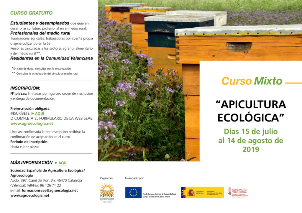 "Curso mixto: ""Apicultura ecológica"" @ Plataforma de Formación SEAE"