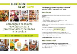 Curso online de Comedores escolares ecológicos para profesionales vinculados a la cocina