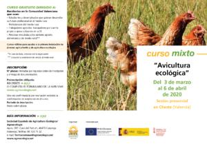 """Curso mixto: """"Avicultura ecológica"""" @ Plataforma de Formación SEAE"""