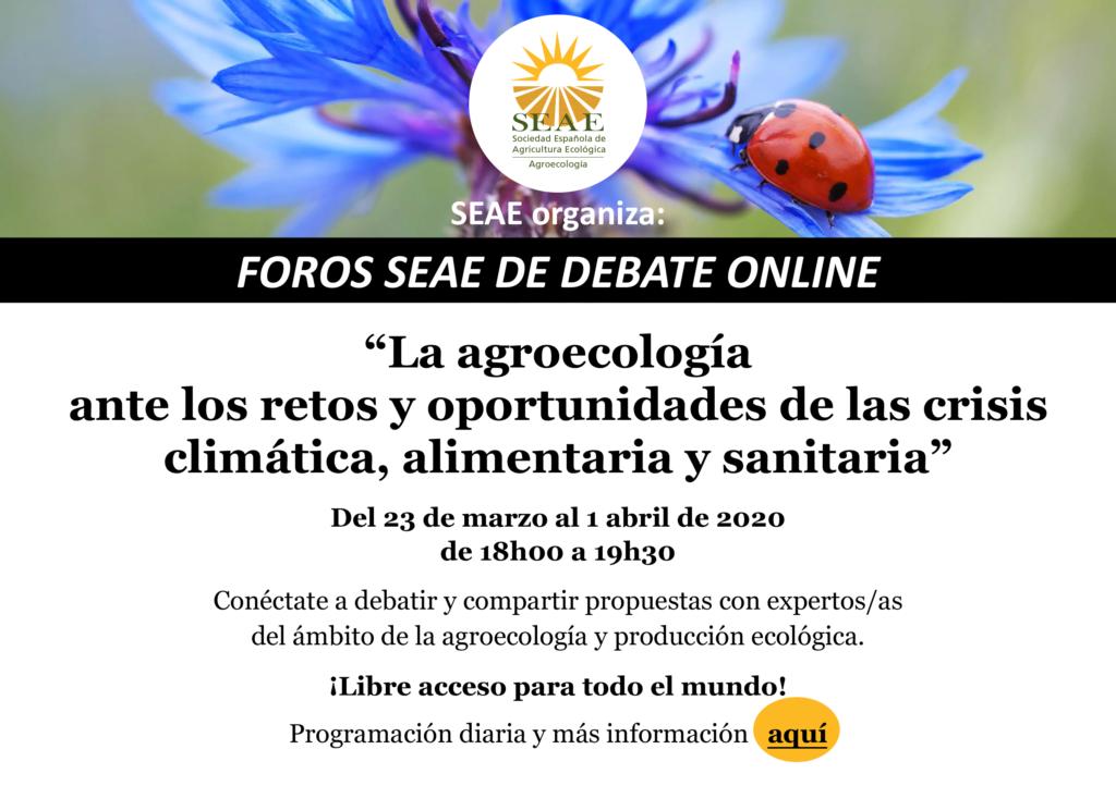 Foros debate online agroecología SEAE