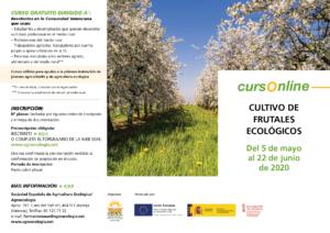 """Curso online: """"Cultivo de frutales ecológicos""""-GVA @ Plataforma SEAE de Formación Online"""