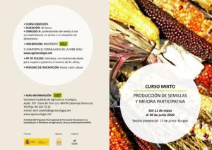 Curso mixto: Producción de semillas y mejora participativa @ Plataforma SEAE de Formación Online