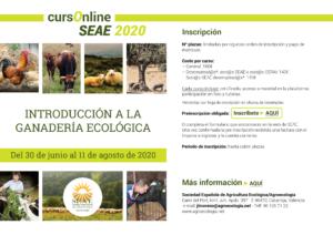 Curso online de Introducción a la ganadería ecológica @ Plataforma SEAE de Formación Online