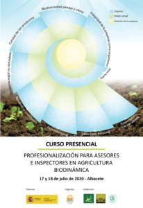Curso presencial: Profesionalización para asesores e inspectores en agricultura biodinámica @ Albacete. Las ubicaciones se indican en la ficha del curso
