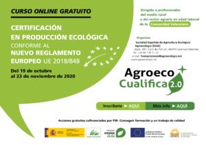 Curso online de Certificación en producción  ecológica conforme al nuevo reglamento europeo UE 2018/848 @ Plataforma de Formacíón Online SEAE
