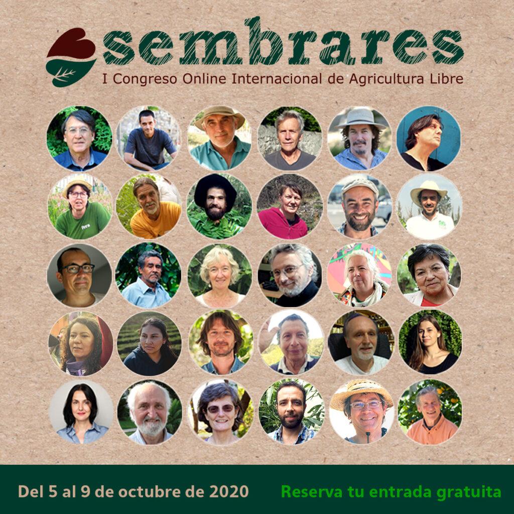 SEMBRARES, I Congreso online Internacional de AGRICULTURA LIBRE, ECOLÓGICA Y REGENERATIVA