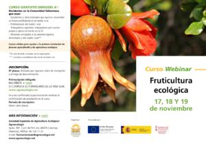 """Curso Webinar """"Fruticultura Ecológica"""""""