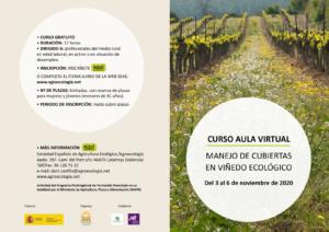 Curso: Manejo de cubiertas en viñedo ecológico @ Plataforma virtual SEAE
