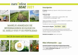 Curso online: Manejo avanzado de invernaderos ecológicos: El suelo vivo y su fertilidad @ Plataforma de Formación online de SEAE