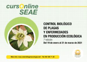 Curso online: Control Biológico de Plagas y Enfermedades en Producción Ecológica @ Plataforma de Formación online de SEAE