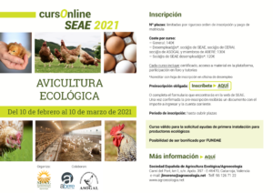 Curso online: Avicultura ecológica @ Plataforma de Formación Online