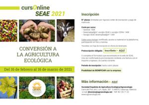 Curso online: Conversión a la agricultura ecológica @ Plataforma Formación online SEAE