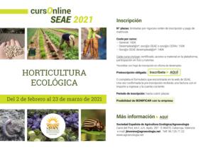 Curso online: Horticultura ecológica @ Plataforma de Formación online SEAE