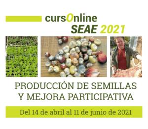 Curso online: Producción de semillas y mejora participativa @ Plataforma SEAE de Formación online