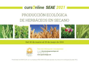 Curso online: Producción ecológica de herbáceos en secano @ Plataforma de Formación SEAE