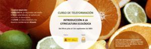 Curso: Introducción a la citricultura ecológica @ Plataforma SEAE de Formación online