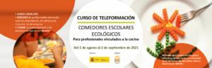 Curso: Comedores escolares ecológicos @ Plataforma SEAE de Formación online