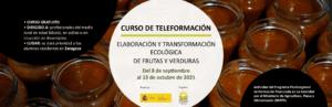 """Curso de teleformación: """"Elaboración y transformación ecológica de frutas y verduras"""" @ Plataforma SEAE de Formación SEAE"""